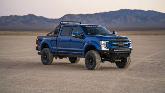 The 2021 Shelby F-250 Super Baja Is The Truck For When A Raptor Isn't Big Enough