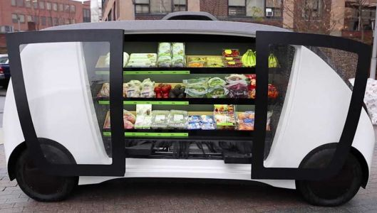 Self-driving vehicles set to deliver groceries