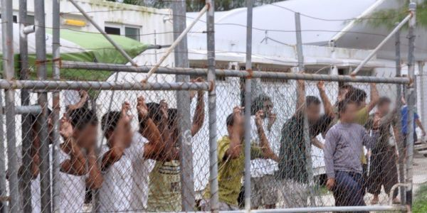 Why asylum seekers are still in an Australian detention center, even after Australia abandoned it