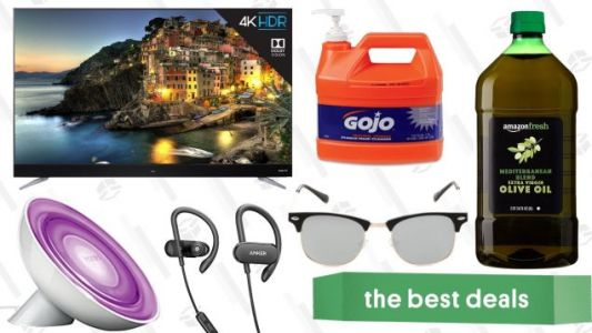 Sunday's Best Deals: Sunglasses, Olive Oil, Philips Hue Lights, and More