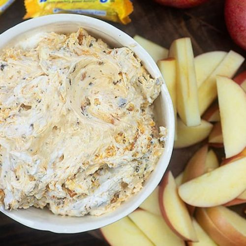 BUTTERFINGER FRUIT DIP