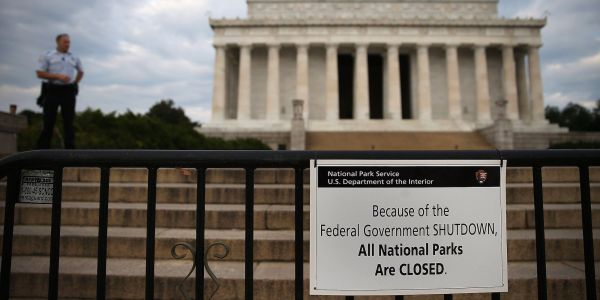 Here's what happens if the government shuts down at the end of this week