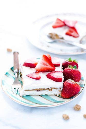 Gluten Free Strawberry Icebox Cake