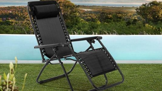 Sit Back, Relax, and Enjoy This Zero Gravity Chair For Just $30