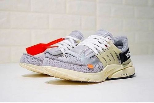 A First Look at the Virgil Abloh x Nike Air Presto in Grey