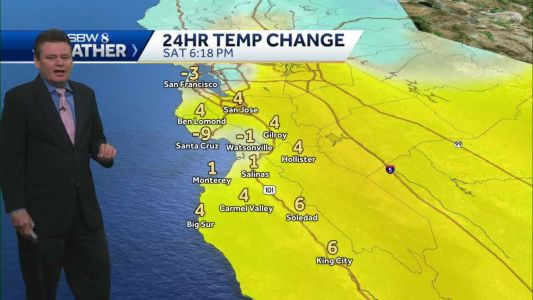 A warmer situation begins starting mid week