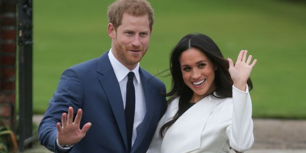 Take a look at Prince Harry and Meghan Markle's first engagement photos