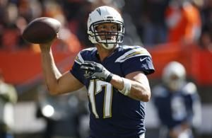 Chargers romp over Browns on first stop of London trip