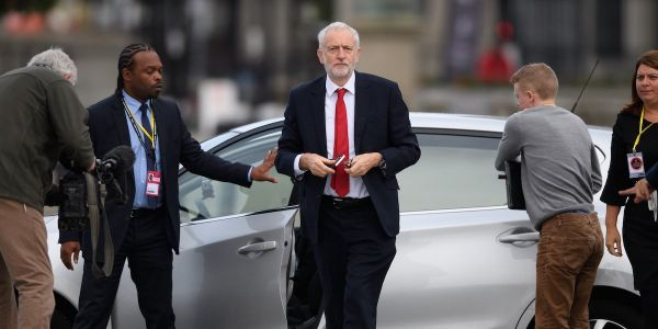 Jeremy Corbyn accused of 'farcical' cop-out after refusing to back second Brexit referendum