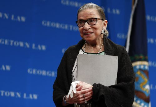 Ginsburg suggests she has at least 5 more years on the Supreme Court