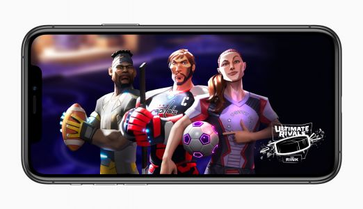 "Apple launches new ""Ultimate Rivals"" sports game franchise on Apple Arcade"