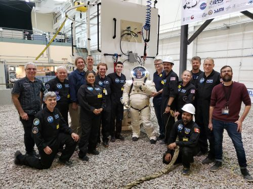 Citizen Scientists Team Up with Canadian Space Agency to Test Commercial Spacesuit