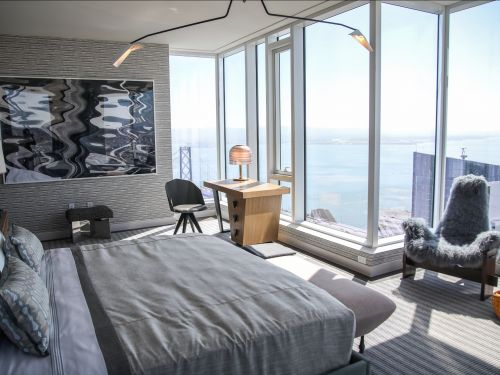 Take a look inside a glittering, $16 million penthouse in the hottest new San Francisco neighborhood that Facebook, Google, and Salesforce call home