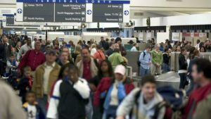 U.S. government shutdown leads to travel disruption for passengers at Atlanta airport
