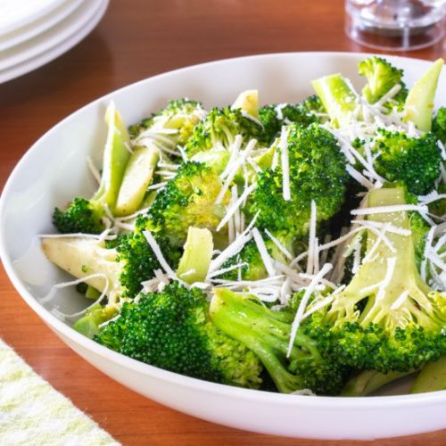 Browned Butter Broccoli with Mizith