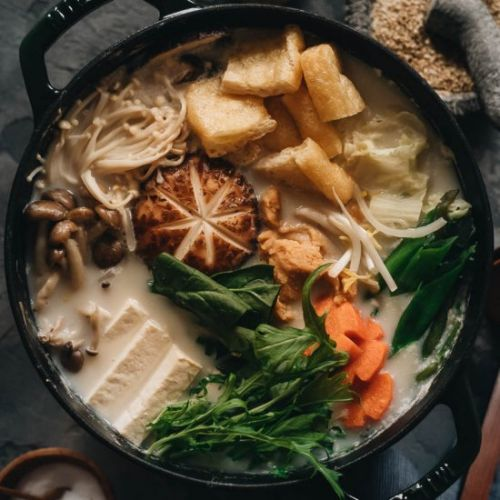 Vegan Soy Milk Hot Pot