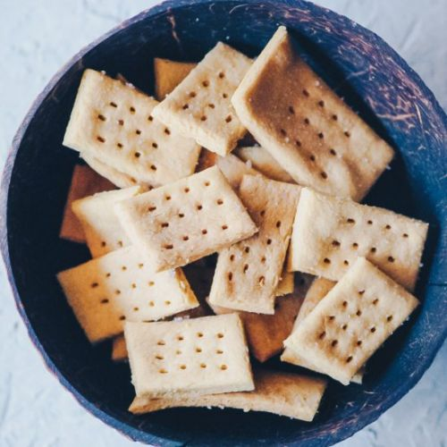 Sea Salt Chickpea Crackers