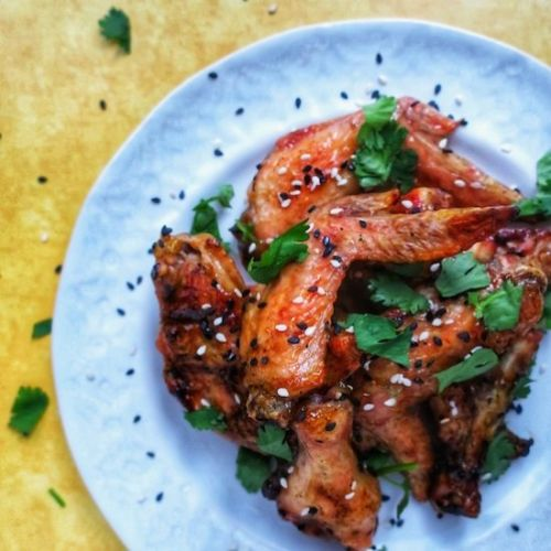 Thai Style Chicken Wings