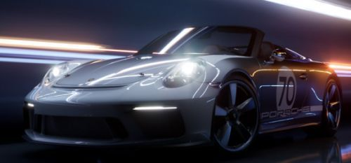 Porsche concept car shows off near real-time ray tracing in Unreal Engine