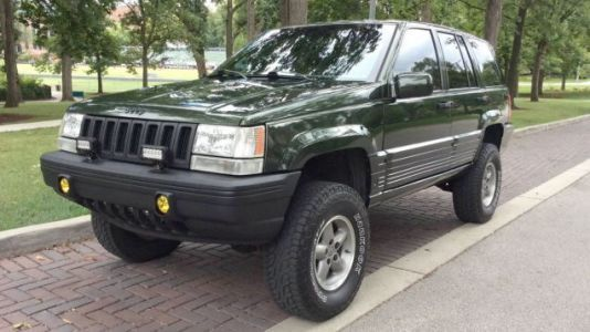 At $8,200, Is It High Time Someone Buy This Lifted 1995 Jeep Grand Cherokee?