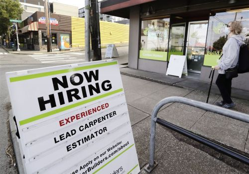 Big U.S. job gain expected, if employers found enough workers