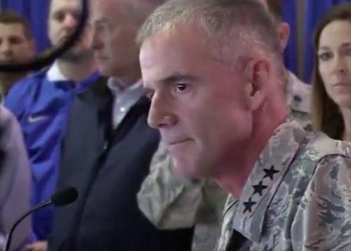 Watch an Air Force general rebuke students over racism at Air Force Academy: Show respect or 'get out'