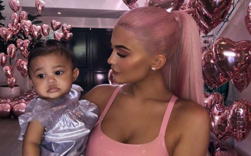 Kylie Jenner Changed Her Mind About Stormi's Name At The Last Minute And It Cost Her A Sh-load Of Money