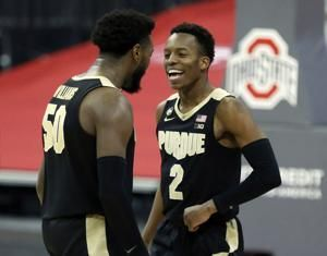 Ivey's late 3 finishes Purdue's rally past No. 15 Ohio State