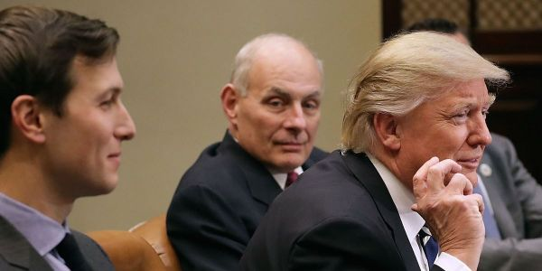 Trump: It's up to John Kelly to decide whether Jared Kushner will keep his security clearance