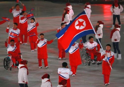 North and South Korea Didn't March Together at the Paralympics Because They Couldn't Agree on a Flag
