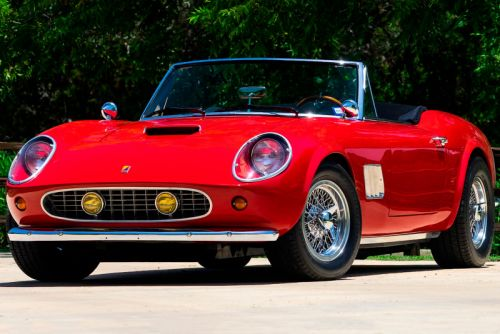 You Can Now Buy the Replica Ferrari GT Spyder From 'Ferris Bueller's Day Off'