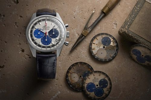 Zenith Revives a Prototype Dial for Latest Chronomaster Release