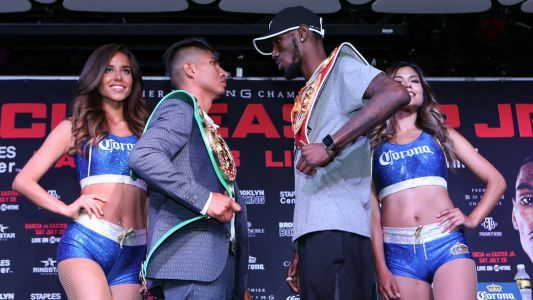 Garcia vs. Easter Jr. live results, updates and round-by-round scoring
