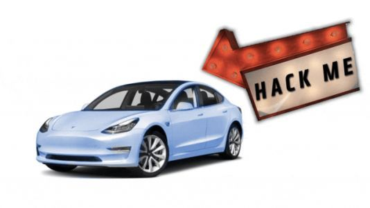 If You Can Hack Into This Tesla Model 3, It's Yours