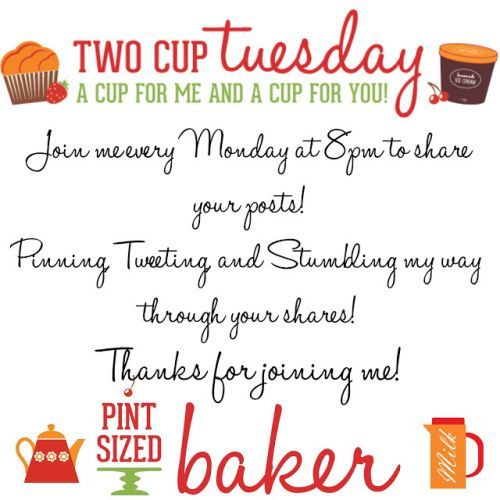 Two Cup Tuesday Linky No.143