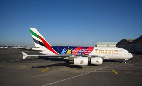 Cricket fever builds as Emirates reveals ICC Cricket World Cup livery