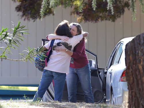 Putting the elementary school on lockdown stopped the California gunman from killing dozens of children