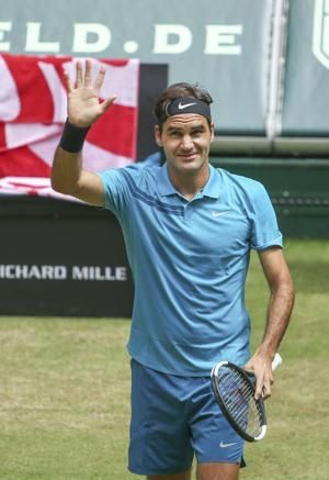 Federer beats Kudla to book 12th Halle final appearance