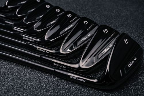 A Closer Look at TaylorMade's P790 New All-Black Colorway Clubs