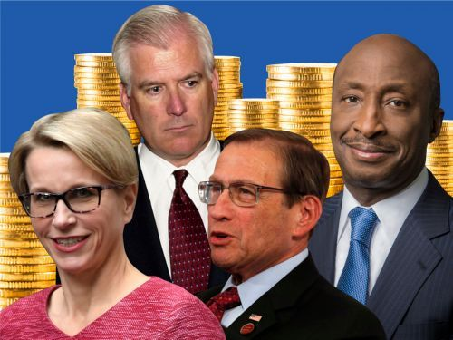 Healthcare CEOs take home some of the biggest pay packages in the world. Here's what the industry's top executives earned last year