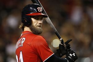 Bryce Harper's agent opened contract talk with Nationals