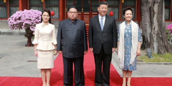 Kim Jong Un's mysterious wife, Ri Sol-ju, became an instant fashion icon in China