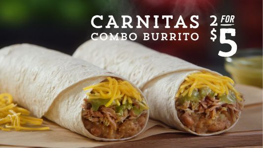 Del Taco's Authentically Cooked Carnitas Return for the Summer