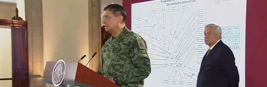Mexico's defense chief says smugglers sneak guns from the US into Mexico in washing machines, gas tanks, and boxes of chocolate