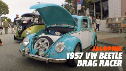 Here's an Old Volkswagen Beetle with a Power-to-Weight Ratio Close to That of a Ferrari 458 Italia