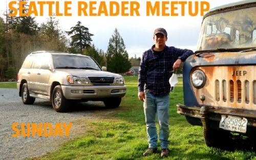 Seattle Jalopnik Readers: Let's Meet On Sunday