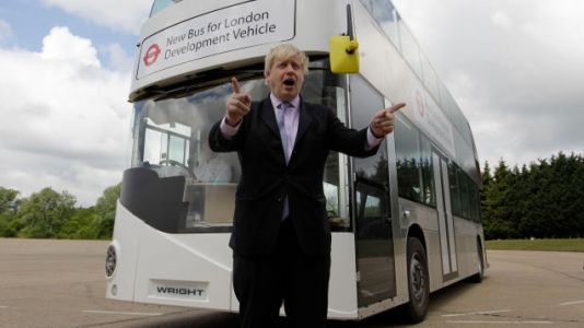 Boris Johnson on How He Likes to Relax: Buses