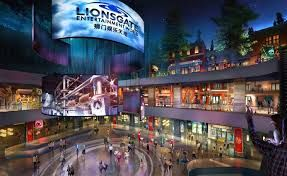 Lionsgate studio to open the world's first vertical theme park in China this summer