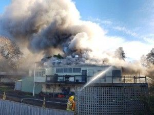 Fire engulfs and devastates Melbourne's heritage listed Gembrook pub