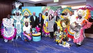 Bahamas Tourism observes the debut of the United Airlines' new nonstop airlift
